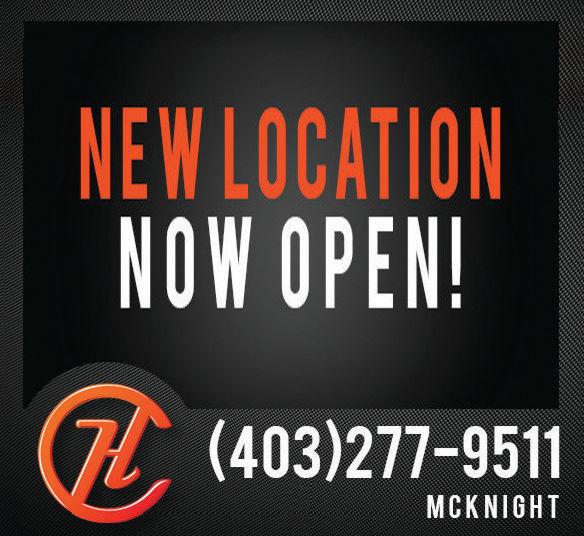 NEW LOCATIONNOW OPEN!(403)277-9511MCK NIGHT NEW LOCATION NOW OPEN! (403)277-9511 MCK NIGHT