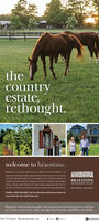 theCountryestaterethought.welcome to braestone.Braestone is an award winning country estane community locatod in theheart of the Horseshoe Valey. Inspirod by the farmhouses, barns, and sheds-of the Oro-Medonte region, the homesteads are an authentic rofection ofBRAESTONErefined courtry lving with four seasons of outdoor actvities at ts doorstepHORSESHOE VALLEYHking skating, apple picking and maple sugar tapping are just a few ofdown home, up country.the many romarkable activities homeowners experience ving at Braestone.PHASE 4 NOW SELLING. Visit the Braestone Discovery Centre fora personal site and model home tour.Distinctive and timeless bungalom, loft and two-storey homesteads on a selectionof 1/2 acre to over 1 acre valley and ridge lots. From the mid $700's to low $IM's705.7275656 braestone.caClGEORGIANNATGOebo i aan the Country estate rethought. welcome to braestone. Braestone is an award winning country estane community locatod in the heart of the Horseshoe Valey. Inspirod by the farmhouses, barns, and sheds- of the Oro-Medonte region, the homesteads are an authentic rofection of BRAESTONE refined courtry lving with four seasons of outdoor actvities at ts doorstep HORSESHOE VALLEY Hking skating, apple picking and maple sugar tapping are just a few of down home, up country. the many romarkable activities homeowners experience ving at Braestone. PHASE 4 NOW SELLING. Visit the Braestone Discovery Centre for a personal site and model home tour. Distinctive and timeless bungalom, loft and two-storey homesteads on a selection of 1/2 acre to over 1 acre valley and ridge lots. From the mid $700's to low $IM's 705.7275656 braestone.ca ClGEORGIAN NATGO ebo i aan