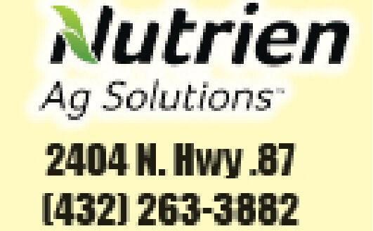 NutrienAg Solutions2404 N. Hwy 87[432) 263-3882 Nutrien Ag Solutions 2404 N. Hwy 87 [432) 263-3882