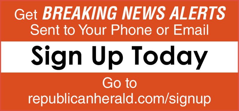 Get BREAKING NEWS ALERTSSent to Your Phone or EmailSign Up TodayGo torepublicanherald.com/signup Get BREAKING NEWS ALERTS Sent to Your Phone or Email Sign Up Today Go to republicanherald.com/signup