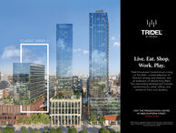 TRIDELAT THE WELLCLASSIC SERIES IILive. Eat. Shop.Work. Play.Tridel introduces Condominium Livingat The Well a bold reflection ofToronto's energy and diversity, andan extension of vibrant King West.This astounding development includescondominiums, retail, offices, andrentals at Front and Spadina.VISIT THE PRESENTATION CENTREAT 4800 DUFFERIN STREETTRIDEL COMo2019 Tidel aregered Trademark of Tridel Corporation. Project msandogs ae Tademas of hei respecive oners Al rightseseved tions's conceponly E&OE TRIDEL AT THE WELL CLASSIC SERIES II Live. Eat. Shop. Work. Play. Tridel introduces Condominium Living at The Well a bold reflection of Toronto's energy and diversity, and an extension of vibrant King West. This astounding development includes condominiums, retail, offices, and rentals at Front and Spadina. VISIT THE PRESENTATION CENTRE AT 4800 DUFFERIN STREET TRIDEL COM o2019 Tidel aregered Trademark of Tridel Corporation. Project msand ogs ae Tademas of hei respecive oners Al rightseseved tions 's conceponly E&OE