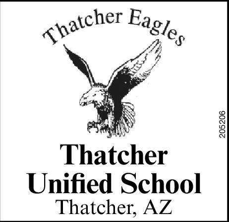 Thatcher EaglesThatcherUnified SchoolThatcher, AZ Thatcher Eagles Thatcher Unified School Thatcher, AZ