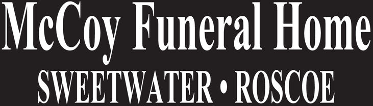 MeCoy Funeral HomeSWEETWATER ROSCOE MeCoy Funeral Home SWEETWATER ROSCOE