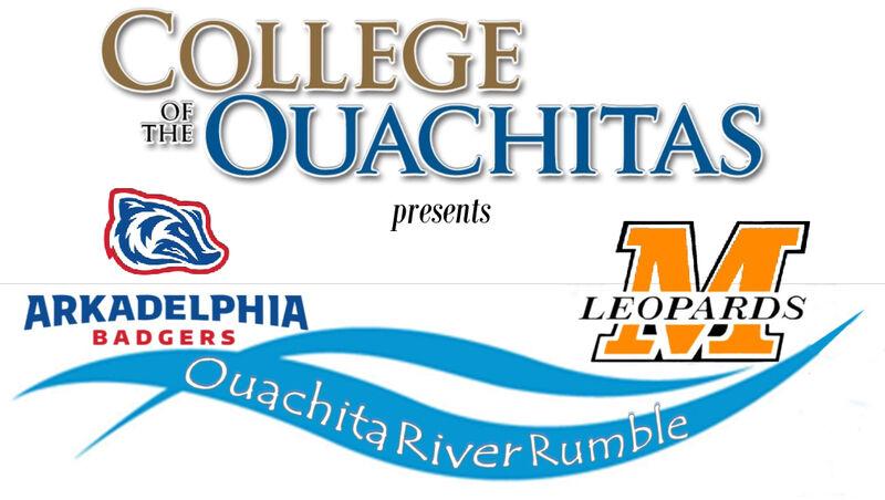 COLLEGEOUACHITASOFTHEpresentsLEOPARDSARKADELPHIABADGERSOuachita River Rumble COLLEGE OUACHITAS OF THE presents LEOPARDS ARKADELPHIA BADGERS Ouachita River Rumble