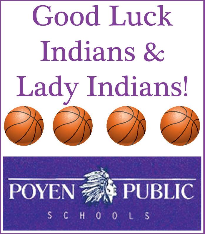 Good LuckIndians &Lady Indians!PUBLICSCHO 0LS Good Luck Indians & Lady Indians! PUBLIC  SCHO 0LS