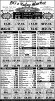 Freshness-Quality-ServiceBGS Valne MarketPrices EffectiveOpen Daily - 7 a.m. - 9 p.m.Week of 1/7/2020 to 1/13/2020King's Village PlazaMinersville 570-544-2099Rte. 443 Pine Grove 570-345-0464Freschetta PizzaCheese, Pepperoni, SupremeMoney Orders 79$4.28 aMACTropicanaHeinzTurkey HillHealthy ChoiceCafé SteamersTastykakeFamily PacksIce Cream 48 oz Orange JuicePure Premium or 50Ketchup5/$10$2.38.Original. $2.38All Natural.S2.98$2.98..$1.98All NaturalChuck RoastsAll NaturalBoneless Chicken Breasts$1.68.All NaturalBoneless Chicken Thighse$1.78.HatfieldSliced BaconAll Natural WholeBoneless Pork Loins$4.28.$1.68.$4.48John F. MartinMuenster Cheese$3.78.1 Ib.pkg.ValueCutFreeIb.All NaturalPorterhouse or T-Bone SteaksSahlen'sSmokehouse HamO$6.98.$4.68.ValueVakueIb.FRESH MEATDELICATESSENPRE-PACKAGED MEATSOriginal or Grill$4.88 Berks Meat Franks15 oz.$2.78All Natural 81% LeanGround Chuck.AN Natural Beef ChuckMock Tender Steaks.All NaturalChuck SteaksAll NaturalShoulder RoastsAll NaturalBoneless Pork Loin Roasts.Al NaturalEckrichChicken Breast.Best Yetb.$3.68Berks15 oz $3.98Ab.$4.18 Corned Beef or Pastrami.Ib. $6.98 Beef Franks.Hatfield FlavoredBGS Store MadeIb. $4.48 Baked Turkey Breast.Ib. $5.98 Boneless Ham Steaks.8 oz. 2/$5AN VarietiesKunzler$3.98 Sweet or Lebanon Bologna. b. $5.78 hesanile Smoked Susage1214Ib $4.88$3.48Jb.Mama Lucia (Reg or Homestyle) Buy 1 Get 1italian Style Meatballs. 16 oz FREEBieryHot Pepper CheeseBG'S Store MadeIb.52.48Philly$4.78 Sandwich Steaks.21 oz. $5.48Boneless Country Style Ribs.b. $2.18 Tuna SaladIb.All NaturalBoneless Pork Chops..b. $2.98All NaturalFlat Style Spare Ribs. b. $2.78 Ciabatta RollsJohn F. MartinSmoked Pork Chops.. b.53.78 Elephant EarsSweet or Hot (Value Pack)Hatfield Italian Sausage. b. $2.98 Sticky Buns.IN STORE BAKERYSEAFOODWholey L0.F Raw4 pk $2.18 1620 ct. EZ Peel Shrimp.1 b. $7.68Wholey Peeled & Deveined2 pk. $2.48 4150 ct. Cooked Shrimp. 1 b. $6.98Fresh BakedStore BakedFresh Baked WINutsSea Cuisines pk $3.68 Beer Battered Hadd