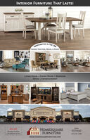 """INTERIOR FURNITURE THAT LASTS!HANDCRAFTED IN THE USACHOOSE YOUR SIZE, WOOD, & FINISHGatherLIVING ROOM  DINING ROOM  BEDROOMOFFICE  ENTERTAINMENTGREEN AresHOMESOAAAST"""" HOMESQAREFURNITUREEaston10% OFF3850 Newburg RdEaston, PA 18045(610) 330-9096All Indoor Furniturewww.HOMESQUAREFURNITURE.COM INTERIOR FURNITURE THAT LASTS! HANDCRAFTED IN THE USA CHOOSE YOUR SIZE, WOOD, & FINISH Gather LIVING ROOM  DINING ROOM  BEDROOM OFFICE  ENTERTAINMENT GREEN Ares HOMESOAAAS T"""" HOMESQARE FURNITURE Easton 10% OFF 3850 Newburg Rd Easton, PA 18045 (610) 330-9096 All Indoor Furniture www.HOMESQUAREFURNITURE.COM"""