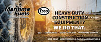 MaritimeFuelsEssoHEAVY DUTYCONSTRUCTIONEQUIPMENT?WE DO THAT.Delivering excellenceDIESEL EFFICIENT A INDUSTRIAL SUPPLIESLUBRICANTSDEF310-ESSO   MARITIMEFUELS.CA  @MARITIMEFUELS Maritime Fuels Esso HEAVY DUTY CONSTRUCTION EQUIPMENT? WE DO THAT. Delivering excellence DIESEL EFFICIENT A INDUSTRIAL SUPPLIES LUBRICANTS DEF 310-ESSO   MARITIMEFUELS.CA  @MARITIMEFUELS