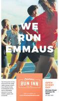 RUNEMMAUSEmmausThe Emmaus Run Inn hasRUN INNOPENEVERYDAYlong stood as the LehighValley's premier runner's- EST, 2013 -shop offering friendly.knowledgeable service322 Main Streetand an unparalleledEmmaus, PA18049selection of runningsneakers, apparel, andVisit us online atwww.EmmausRuninn.com610-966-9939accessories. RUN EMMAUS Emmaus The Emmaus Run Inn has RUN INN OPEN EVERY DAY long stood as the Lehigh Valley's premier runner's - EST, 2013 - shop offering friendly. knowledgeable service 322 Main Street and an unparalleled Emmaus, PA 18049 selection of running sneakers, apparel, and Visit us online at www.EmmausRuninn.com 610-966-9939 accessories.