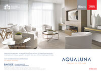 TRIDEL2019 OHBAProject of the YearAqualunaHinesBUILT FOR LIFECALKaaiotography of Aguavista's Penthouse Model SuiteExperience the splendour of Lakeside Living. Come and tour the magnificent penthousemodel suite, and immerse yourself in panoramic lake views and stunning designer finishes.AQUALUNAVISIT THE PRESENTATION CENTRE TODAY261 Queens Quay EastLUXURY BY THE LAKEBAYSIDE |A HINES MASTERPLANNED COMMUNITY.TORO NTO02020 Tridel is a rogistered Trademark of Tridel Corporation. Project names and logos areTrademaris of their respective owners. All rights reserved. Ilustrations are artist's concept only. E8O.Etridel.com TRIDEL 2019 OHBA Project of the Year Aqualuna Hines BUILT FOR LIFE CAL Kaaiotography of Aguavista's Penthouse Model Suite Experience the splendour of Lakeside Living. Come and tour the magnificent penthouse model suite, and immerse yourself in panoramic lake views and stunning designer finishes. AQUALUNA VISIT THE PRESENTATION CENTRE TODAY 261 Queens Quay East LUXURY BY THE LAKE BAYSIDE |A HINES MASTER PLANNED COMMUNITY. TORO NTO 02020 Tridel is a rogistered Trademark of Tridel Corporation. Project names and logos are Trademaris of their respective owners. All rights reserved. Ilustrations are artist's concept only. E8O.E tridel.com