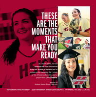THESEARE THEMOMENTS HSTHATMAKE YOUREADYMENDEANSOFTBHSUAs a student-athlete, l've beenHchallenged both in the classroom andon the field. Between the education that l'vereceived and the relationships that I've built,my time at Henderson State University hasprepared me to Live Reddie.REDDIESAshleigh ErbGraduate Student, School of BusinessHENDERSON STATE UNIVERSITY | 1100 HENDERSON STREET | ARKADELPHIA, ARKANSAS | HSU.EDU/LiveReddie THESE ARE THE MOMENTS HS THAT MAKE YOU READY MENDEAN SOFTB HSU As a student-athlete, l've been H challenged both in the classroom and on the field. Between the education that l've received and the relationships that I've built, my time at Henderson State University has prepared me to Live Reddie. REDDIES Ashleigh Erb Graduate Student, School of Business HENDERSON STATE UNIVERSITY | 1100 HENDERSON STREET | ARKADELPHIA, ARKANSAS | HSU.EDU/LiveReddie