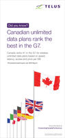 E TELUSDid you know?Canadian unlimiteddata plans rank thebest in the G7.Canada ranks #1 in the G7 for wirelessunlimited data plans based on speed,latency, access and price per GB.- PricewaterhouseCoopers Jan 2020 Report:Know the facts atConnectingCanadaForGood.catopnUi Da on Apot ioty s E TELUS Did you know? Canadian unlimited data plans rank the best in the G7. Canada ranks #1 in the G7 for wireless unlimited data plans based on speed, latency, access and price per GB. - PricewaterhouseCoopers Jan 2020 Report: Know the facts at ConnectingCanadaForGood.ca topn Ui Da on A pot iot y s
