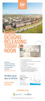 !MOREDESIGNSRELEASINGTODAY ATNOONTOWNAWide Traditional Street Towns3 bedroom layouts with spacious open concept designs 9 foot celings Seek wall mounted electric fireplaces 5 free appliances Free central air condtioning Balcony Terrace has natural gas BBQ hook up Steps from the Great Lakes Waterfront Tral,near ecellent universities, shopping and dinineDiscover ourTraditional Townhomesin South Oshawa's mostsuccessful sellingcommunity,Now Under Construction.minutes trom the GO and Highway 401Oh! What a greatplace to call homeVat OHI TPresentation Centre895 PHILLIP MURRAY AVE,OSHAWA(289) 928-4038Houn of OperationPRICED FROMMon to Wed. Ipm-7pmth y Aeoinent OnlyTHE $500sSa. Suna Hde 1adomOHTOWNS.COMGRAYWOODFALCONCRESTle ! MORE DESIGNS RELEASING TODAY AT NOON TOWNA Wide Traditional Street Towns 3 bedroom layouts with spacious open concept designs  9 foot celings  Seek wall mounted electric fireplaces  5 free appliances  Free central air condtioning  Balcony Terrace has natural gas BBQ hook up  Steps from the Great Lakes Waterfront Tral, near ecellent universities, shopping and dinine Discover our Traditional Townhomes in South Oshawa's most successful selling community, Now Under Construction. minutes trom the GO and Highway 401 Oh! What a great place to call home Vat OHI T Presentation Centre 895 PHILLIP MURRAY AVE, OSHAWA (289) 928-4038 Houn of Operation PRICED FROM Mon to Wed. Ipm-7pm th y Aeoinent Only THE $500s Sa. Suna Hde 1adom OHTOWNS.COM GRAYWOOD FALCONCREST le