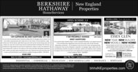 BERKSHIREHATHAWAYEnglandPropertiesNewHomeServicesOPEN SUNDAY 1-3MODELS OPEN: Thurs. Sat. & Sun. 12-3139 CLIFFMORE RD, WEST HARTFORD Kevin Eogan1109 PROSPECT AVENUEESSEX GLENJohn LeporeDo not miss this beautiful Dutch Colonial located within the Bugbee School district. Thishome offers improvements both inside and out. The interior of home features a largefamily room off the kitchen, light filled living room with wet bar, formal dining room andsunken sun room. All of which hove hod the hardwood freshly refinished. The 2nd florWEST HARTFORDThis landmark West Hartford Estate is finally availablell Wonderful curb oppeal aboundsin this architecturaly magnificent stone and brick home with circulor driveway.NEW YEAR. NEW BUILDER.NEW MODELS. NEW HOME!Beaustul design and state of the ant frishes make theseenergy efficient homes a treat to see. Open floor plan,spacious master sute, 2 car garage, on one foor withno outdoor maintenance to womy aboutHomes priced from $449.900 to $569,900Impeccably maintained - this 8 bedroom home has all the cham and graciousnessincludes tour lorge bedrooms and three full bathrooms. (large en-suite). The bosement isa wolk out. The exderior of the home has been beoutitully maintainedof yesteryear. There are five fireplaces a separate 3 cor garoge -large master suite withtwo bothrooms, beautitul wrought iron staircase, central air & extensive orown moldingthroughout. This is a must see and a rare opportunity to possess and own this fabulousin-town residence. MLS 170263823fully finished with a wwith a newer root, fresh paint and pertect brick work. Extensive three work has been doneto open up the flat tenced in yard. Extensive updates throughoutt MLS 170272876$549,900Located just offMaryalice WidressWest artord Ofice$895,000Bokum Rd. in EssenEssexGlen.comCel B60.96.320s860-416-3333  kevineagan@bhhsne.com860-798-7844  jlepore@bhhsne.commayicendnetunecomRESIDENTIAL | COMMERCIAL | RELOCATION | NEW HOMES & LAND | INSURANCE | MORTGAGEO 2016 An independen