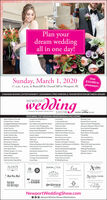 Plan yourdream weddingall in one day!Sunday, March 1, 202011 a.m.-3 p.m. at Rosecliff & OccanCliff in Newport, RIOver$10,000 insiveaways!2 FASHION SHOWS ENTERTAINMENT | GIVEAWAYS|FREE PARKING & TRANSPORTATION BETWEEN VENUESNEWPORTwg- Formerly the Newport dridel Show- SHOWeNEWPORT Htling MAGAFEATURING TOP WEDDING PROFESSIONALS INCLUDING:Aldo's House of FormalsExceptional Wedding DsFly Me to IravelLuca MusicLucky Dog ResortsRockstar LimoA Mano Pizza GelatoRussell Morin CateringArpeggio Wedding Entertainment Fort Adams & Eisenhower House Luke Renchan EntertainmentArtintic Wedding FilmAruba TourismAspire DermatologyAudrain Automobile MuseumSabrina Scolari PhotographyFrozen in Time PhotographyGourmet-Galley With Of the Vine Makeup by JernuMainstay HotelSaltwater/Nowport Harbor HotelSara Zarella PhotographyMiddletown Hotel GroupGreglewis PhotographyGurney's Newport Resort 6 Marina Mike Picard Motion PicturesHarbor LightsHead Over Heels Bridal Boutique New York Lace CoutureHltop anHotel VikingInfusion Boutique with Calma Salon Newport Craft Brewery & Distillery Watch Catering presentsShaded Soul BandStefy Himer PhotographyAvalon Medical SpaBeautitully UnatraidBethany O PhotogrohyMirbeau Inn & SpaThe BohlinThe Cocktail CuruVacation NewportViking ToursNewport Blues CafeBlackstone CaterersNewport Chowder CompanyBlueflash PhotoraphyBrenton Hotel White Horse Tivern International Ternis Hall Of Fame Newport VineyardsCherryhi flowersThe Mobile PubNicole Gesmondi PhotographyDPaulo Designs-N-LinensE. Jane FhotographyL Breakell & CoJamestown Newport FerryNonantum ResortPerceptions PhotographyPiper Brown PhotograchyWhiting hotographyWingate's Cake DesignWinnie CoutureJason & Co.Jennifer Neves PhotoeraphyElle's BakeryEmbrace Home LoansLa Forge Casino RestaurantLoren HopePranzi Tents 6 EventsEntertainment SpecialistsRIWedding GroupGd hie SpTeertieme pePartiptingbre.ALDO'SAvalenJASON CO.HOO ORMNSDRAATrupartHhad Over HeelsVIKING TOURSJwtry SpoTHE COCKTAILx GURUINJUSJONOUTIQUEWding R pombracehome loonLOREN HOPENewportWeddingShow.com000 eNewportWedding INewportWeddingShow Plan your dream wedding all in one day! Sunday, March 1, 2020 11 a.m.-3 p.m. at Rosecliff & OccanCliff in Newport, RI Over $10,000 in siveaways! 2 FASHION SHOWS ENTERTAINMENT | GIVEAWAYS|FREE PARKING & TRANSPORTATION BETWEEN VENUES NEWPORT wg - Formerly the Newport dridel Show- SHOWe NEWPORT Htling MAGA FEATURING TOP WEDDING PROFESSIONALS INCLUDING: Aldo's House of Formals Exceptional Wedding Ds Fly Me to Iravel Luca Music Lucky Dog Resorts Rockstar Limo A Mano Pizza Gelato Russell Morin Catering Arpeggio Wedding Entertainment Fort Adams & Eisenhower House Luke Renchan Entertainment Artintic Wedding Film Aruba Tourism Aspire Dermatology Audrain Automobile Museum Sabrina Scolari Photography Frozen in Time Photography Gourmet-Galley With Of the Vine Makeup by Jernu Mainstay Hotel Saltwater/Nowport Harbor Hotel Sara Zarella Photography Middletown Hotel Group Greglewis Photography Gurney's Newport Resort 6 Marina Mike Picard Motion Pictures Harbor Lights Head Over Heels Bridal Boutique New York Lace Couture Hltop an Hotel Viking Infusion Boutique with Calma Salon Newport Craft Brewery & Distillery Watch Catering presents Shaded Soul Band Stefy Himer Photography Avalon Medical Spa Beautitully Unatraid Bethany O Photogrohy Mirbeau Inn & Spa The Bohlin The Cocktail Curu Vacation Newport Viking Tours Newport Blues Cafe Blackstone Caterers Newport Chowder Company Blueflash Photoraphy Brenton Hotel White Horse Tivern International Ternis Hall Of Fame Newport Vineyards Cherryhi flowers The Mobile Pub Nicole Gesmondi Photography DPaulo Designs-N-Linens E. Jane Fhotography L Breakell & Co Jamestown Newport Ferry Nonantum Resort Perceptions Photography Piper Brown Photograchy Whiting hotography Wingate's Cake Design Winnie Couture Jason & Co. Jennifer Neves Photoeraphy Elle's Bakery Embrace Home Loans La Forge Casino Restaurant Loren Hope Pranzi Tents 6 Events Entertainment Specialists RIWedding Group Gd hie Sp Teertieme pe Partipting bre. ALDO'S Avalen JASON CO. HOO ORMNS DRAA Trupart Hhad Over Heels VIKING TOURS Jwtry Spo THE COCKTAIL x GURU INJUSJON OUTIQUE Wding R p ombrace home loon LOREN HOPE NewportWeddingShow.com 000 eNewportWedding INewportWeddingShow
