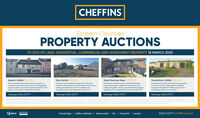 CHEFFINSEastern CountiesPROPERTY AUCTIONS19 LOTS OF LAND, RESIDENTIAL, COMMERCIAL AND INVESTMENT PROPERTY 18 MARCH 2020Ipswich, Suffolk B60,000+Diss, Norfolk E1S0.000Freckenham, Suffolk 275,000Substartiol period bom with plorring pemiion10 convert to o poir of three bedroom dwelingsGreat Dunmow, Essex 275,000A fomer Church bulding n grounds of 021 aces, withAn end-tenroce Grode l lated mied use property onthe eosten side of pswich town centre. The deceptivelyspacioun property hos a GA of opproimately m L021sgt), ord is in need of retubishment. Feehold.A3 bed sem-detoched house n need of etubetmereThe property enjoys on edge of town locotion off-roodporking and garders The house wold beret hom gereralupgoding andor reordering of the accommodotion STPIoutine plonning corsent for the demoltion of the existingbulding and replocement with two dwellings andof appraimately 184.58 m 0987 satleach, withoocioted works. ideol development opportunityourbuldings, gordens and rual viewsViewings 01223 213777Viewings 01223 213777Viewings 01223 213777Viewings 01223 213777GUDE PRICE AND FEE INFORMATION Gudepros e providedan ndication of eachselermnimumpecion They ane not necory iguwhichaprocety orondmaychongeotany be prortotheouction toh propetyi be ofored suect to a Rerveprce lo foure below whichthe Auctioneer corvet ot the property dung the uction) which we epect we be set up to or within the Gude Rargeorromore thon 0 obeveosngie fe Gud The eerve pewiemoncoorbetwer the seler ond theuctioneFe The gude pncecudet onyadditonal at the puchos may n to ncude utmited to Buyers ContractNAT egolond seachPlacasa uction Lega acs for deaCambridge | Saffron Walden | Newmarket | Ely | Haverhill | London01223 213777 cheffins.co.ukRICS CHEFFINS Eastern Counties PROPERTY AUCTIONS 19 LOTS OF LAND, RESIDENTIAL, COMMERCIAL AND INVESTMENT PROPERTY 18 MARCH 2020 Ipswich, Suffolk B60,000+ Diss, Norfolk E1S0.000 Freckenham, Suffolk 275,000 Substartiol period bom with plorring pemiion 10 convert to o poir o