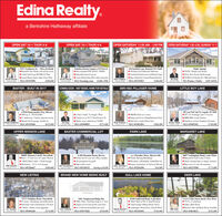 "Edina Realty.a Berkshire Hathaway affiliateOPEN SAT 10-1 THUR 4-6OPEN SAT 10-1 THUR 4-6OPEN SATURDAY 11:00 AM - 1:00 PM OPEN SATURDAY 1:30-3:30, SUNDAY 11-1Pine Trails9153 Northtown St. - Move-In ReadyBeautiful New Home with all the extras4 bed/3 bath/3 gar RETREAT PlanGrand Master Suite, Open Floor PlanMLS #5347090Modellalo in Beainerd Commaty a 9152 Wohs StMuch Aticipated PINE TRAILS- NISSKASingle family homes for any sizeCurrt Modd & Sales Ofle Uader Contraction418 Fairficld Lane, Brainerd MN 56401Think Spring!TOUR 2 Model Lake Homes1980 Square Fort2 Bodrooms2 RahoosTowabomeFinishod Loner Lovelieatad GangeMany L'pdatevNew FumaceWindows.Rool.EeMLS #53329%3Dock, Pool, Private 2h40 storageSTOPE1214 Harbor PL-2 Blks B4 Emie'sDavid MerninDavid MerninMLS #coming soonMatt PelphreyJoe Enge21-R9-JoMIS #S plans, 2 ModelsS288,000S240A-390ASI80,000S495-S695A216-20-s5BR/4BA PILLAGER HOMEBAXTER - BUILT IN 2017COMING SOON - VISIT MODEL HOME FOR DETAILSLITTLE BOY LAKE3887 Lone Wolf Trail NE, Loepilk, MN 5685207' of frontage and 5.9 acres13518 Honeysuckle Way, Baster3800 sq. ft. NO STAIRS4+ bedrooms 3 baths spacious roomsHeated 26x26 garage, double lotMLS #53355602 bed 2 bath ""Cottage"" PlanCheck in at 9153 Northtown StMake your selections NOW!MLS #5490895SBRI4BA Home on 1.6 AcresTongue and Groone Colinp/Hardwood FloorsMain Floor Laundry/Master SuiteMLS #54918544BR/4BA Lake HomeOutdoor stone fireplace & patioDinah Sundberg218-919Joe Enge218-Brad Wadsten21821-2721Jerems Miller$425,000$271.000$284,9002-1-53MLS #5495301$749,900UPPER MISSION LAKEBAXTER COMMERCIAL LOTFAWN LAKEMARGARET LAKECOLLEGE PINESOFFICE PARKLIB2 Brandon Road, BaxterPerfect site for your new office comples.All assessements are paid!High traffic count!MLS H531815328009 Mission Cutoff, Merrifield