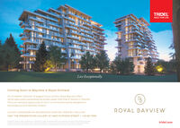 TRIDELBUILT FOR LIFELive Exceptionally.Coming Soon to Bayview & Royal OrchardAn incredible collection of elegant luxury condos. Royal Bayview offershome-sized suites overlooking the private Ladies Golf Club of Toronto in Thornhill.This is an exclusive opportunity to live in a community lavishly designed tobe sumptuous and serenely modern.ROYAL BAYVIEWLUXURY CONDOMINIUM RESIDENCES STARTING FROM $1.2 MILLIONVISIT THE PRESENTATION GALLERY AT 4800 DUFFERIN STREET | 416 661 7699r has trtridel.comand hdmiebo e s ngtr asthen wmatro b drd tt d des ot Df t GE Maoturconoton nd TRIDEL BUILT FOR LIFE Live Exceptionally. Coming Soon to Bayview & Royal Orchard An incredible collection of elegant luxury condos. Royal Bayview offers home-sized suites overlooking the private Ladies Golf Club of Toronto in Thornhill. This is an exclusive opportunity to live in a community lavishly designed to be sumptuous and serenely modern. ROYAL BAYVIEW LUXURY CONDOMINIUM RESIDENCES STARTING FROM $1.2 MILLION VISIT THE PRESENTATION GALLERY AT 4800 DUFFERIN STREET | 416 661 7699 r has tr tridel.com and hdmiebo e s ngtr a sthen wmatro b drd tt d des ot Df t GE Ma oturconoton nd