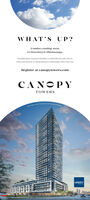 WHAT'S UP?Condos coming soonto Downtown Mississauga.Beautiful nature. luxurious amenities, a rooftop lifestyle park, close tourhan conseniences, in vilrant downtinun Mississana. That's uhat's up!Register at canopytowers.comCANOPYTOWERSLIBERTYIMandhange WHAT'S UP? Condos coming soon to Downtown Mississauga. Beautiful nature. luxurious amenities, a rooftop lifestyle park, close to urhan conseniences, in vilrant downtinun Mississana. That's uhat's up! Register at canopytowers.com CANOPY TOWERS LIBERTY IMandhange