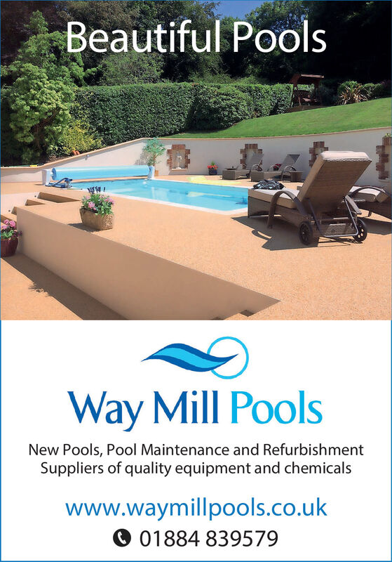 Beautiful PoolsWay Mill PoolsNew Pools, Pool Maintenance and RefurbishmentSuppliers of quality equipment and chemicalswww.waymillpools.co.ukO 01884 839579 Beautiful Pools Way Mill Pools New Pools, Pool Maintenance and Refurbishment Suppliers of quality equipment and chemicals www.waymillpools.co.uk O 01884 839579