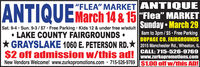 "!""FLEA"" MARKET ANTIQUE