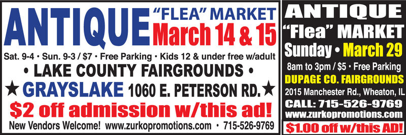 """!""""FLEA"""" MARKET ANTIQUE
