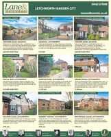 Lane&BENNETTS01462 671000LETCHWORTH GARDEN CITYlaneandbennetts.co.ukCOMING SOONBOOK YOUR OPEN DAY APPOINTMENTINFORMAL TENDERORCHARD ROAD, BALDOCKMADDLES, LETCHWORTHCHILVERS BANK, BALDOCKOPEN DAYS BY APPOINTMENT ONLY - WEDNESDAY 18th/SATURDAY 21st MARCHI THREE BEDROOM BUNGALOWTHREE BEDROOM END OF TERRACE LARGE LOUNGEMODERN KITCHEN WITH APPLIANCES I DOWNSTAIRS WCFOR SALE BY INFORMAL TENDER OPEN DAYS BYAPPOINTMENT ONLY - THURSDAY 19th/SATURDAY 21st0.1 MILE TO TOWN & STATION OFF ROAD PARKING FORTWO CARS GARAGEI CONSERVATORY I SEPARATERECEPTION ROOMS FOR SALE BY INFORMAL TENDERPOPULAR LOCATIONOPEN PLAN ASPECTI HIGH QUALITYFXTURES & FITTINGS E ENCLOSED REAR GARDENMARCH THREE DOUBLE BEDROOMS SEPARATERECEPTION ROOMS WORKSHOP TO REAROPPORTUNITY TO UPDATE & MODERNISE & EXTEND (STP)£425,000 GUIDE PRICE£315,000£300,000 GUIDE PRICESUPERB LIVING SPACENEW INSTRUCTIONLARGE GARDENPASCAL WAY, LETCHWORTHNORTON ROAD, LETCHWORTHGRANGE ROAD, LETCHWORTHTWO BEDROOM STAGGERED TERRACE HOME FITTEDKITCHEN / DINING ROOM LOUNGE ROOM ENCLOSEDREAR GARDEN FRONT GARDEN LARGE GARAGE ONLYA MILE TO TOWN & STATIONOLDER STYLE EXTENDED SEMI IN PRIME LOCATION THREERECEPTION ROOMS & THREE BEDROOMSE 140 FT LONGSOUTH FACING REAR GARDEN FITTED KITCHEN, FITTEDBATHROOMGARAGE & OFF ROAD PARKINGI CLOSE TOTHREE/FOUR BEDROOM FAMILY HOME I UNDER A MILE TOTHE TRAIN STATIONCLOSE TO AMENITIES & SCHOOLSWALK TO NORTON COMMON E LARGE LOUNGE SIZABLEKITCHENDINER FIRST FLOOR & GROUND FLOORBATHROOMI MEDIUM / LONG TERM LET - VIEWINGSCHOOL & AMENITIES£275,000 GUIDE PRICE£1,350 pcm£1,290 pcmCLOSE TO STATION & TOWNGROUND FLOOR APARTMENTLIFT & ALLOCATED PARKINGGILLISON CLOSE, LETCHWORTHTWO / THREE BEDROOMS CLOSE TO AMENITIES, STATION& TOWN I GROUND FLOOR APARTMENTI FITTED KITCHENIMEDIUM / LONG TERM LET ALLOCATED PARKINGMARMET AVENUE, LETCHWORTHBIRCHWOOD COURT, LETCHWORTHTWO BEDROOM APARTMENT IN THE TOWN JUSTMINUTES WALK TO TOWN & STATION fITTED KITCHEN2 MINUTE WALK TO THE STATION CLOSE TO TOWNCENTRE AND AMENITIES I SPACIOUS FIRST F