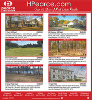 HPearce.compearcereal estateOver 50 Years of Real Estate Results.KILLINGWORTHKILLINGWORTH$990,00068 Chestnut Hill RoadSub-dividable horse property, mid-century modem 4 bedroomRanch, one owner, 6.9 acres. 68ChestnutHill.comDavid Mayhew 203.453.2737 x812$549,00011 Burr Hill RoadSecluded country estate, 8+ acres with pond, updated/remodeled 4,692 sf Colonial, horse property, potential in-law.David Mayhew 203.453.2737 x812MADISONMADISON20 Creamery Lane1.47 acre lot among beautiful homes in desirable subdivisionbacking up to Hammonasset River, last available on street.Brenda Evarts Davenport 860.669.4617 x224$299,000262 Durham RoadBuild your home near village, beaches, schools & commuterroutes. Stone wall boundaries, individual lot, great price per sq ft.Brenda Evarts Davenport 860.669.4617 x224$149,950MADISONMADISONO Horse Pond RoadCustom build your dream home on private 2.2 acre interiorsite, views of & access to beautiful pond, close to beaches.Brenda Evarts Davenport 860.669.4617 x22417 Lyle Drive4 bedroom Colonial on interior lot at end of cul-de-sac, remodeledkitchen, hardwood floors, family room, screened porch.Amanda Popplewell 203.453.2737 x814$188,000$395,000BranfordClintonGuilfordMilfordNew Haven North HavenRocky HillWallingford203.481.5343860.669.4617203.453.2737 203.783.9999 203.776.1899 203.281.3400860.721.8100203.265.4866LeadingEAL ESTATYSCOMPANEESAn Equal Opportunity Employer, Equal Housing OpportunityETHE WORLO HPearce.com pearce real estate Over 50 Years of Real Estate Results. KILLINGWORTH KILLINGWORTH $990,000 68 Chestnut Hill Road Sub-dividable horse property, mid-century modem 4 bedroom Ranch, one owner, 6.9 acres. 68ChestnutHill.com David Mayhew 203.453.2737 x812 $549,000 11 Burr Hill Road Secluded country estate, 8+ acres with pond, updated/ remodeled 4,692 sf Colonial, horse property, potential in-law. David Mayhew 203.453.2737 x812 MADISON MADISON 20 Creamery Lane 1.47 acre lot among beautiful homes in desirable subdivision backing up to Hammonasset River, last available on street. Brenda Evarts Davenport 860.669.4617 x224 $299,000 262 Durham Road Build your home near village, beaches, schools & commuter routes. Stone wall boundaries, individual lot, great price per sq ft. Brenda Evarts Davenport 860.669.4617 x224 $149,950 MADISON MADISON O Horse Pond Road Custom build your dream home on private 2.2 acre interior site, views of & access to beautiful pond, close to beaches. Brenda Evarts Davenport 860.669.4617 x224 17 Lyle Drive 4 bedroom Colonial on interior lot at end of cul-de-sac, remodeled kitchen, hardwood floors, family room, screened porch. Amanda Popplewell 203.453.2737 x814 $188,000 $395,000 Branford Clinton Guilford Milford New Haven North Haven Rocky Hill Wallingford 203.481.5343 860.669.4617 203.453.2737 203.783.9999 203.776.1899 203.281.3400 860.721.8100 203.265.4866 Leading EAL ESTATYS COMPANEES An Equal Opportunity Employer, Equal Housing Opportunity ETHE WORLO