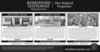BERKSHIREHATHAWAYNew EnglandPropertiesHomeServicesOPEN SUNDAY 1:00-3:00OPEN SUNDAY 1:00-3:00139 CLIFFMORE RD, WEST HARTFORD Keen EoganDo not miss this beautful Dutch Colonial iocoted within the Bugbee School district. Thishome offers improvements boh inside ond out. The interior of home featuRs a lagefamily room off the kitchen, light filed iving room with wet bor, formal dining room andsunken sun room All of which hove had the hartwood treshly refinished The 2nd foorindudes four lorge bedrooms and three tull bothrooms. (lorge en suite). The basement istully frished with a wolk out. The ederior of the home has been beautfuly mointoinedwith a newer root, hesh point and perfect brick work. Extensive tee work has been doneto open up the fot tenced in yord. Extensive updates hroughout M.Sa 170272876$549,90083 MEADOWBROOK ROAD, WEST HARTFORD John LeporeFARMINGTONMorla BymesGREAT LOCATIONI Walk to West Hartford Center & Bue Bock Square. Chamingexpandable Cape tees ike an Engish cottage. Newer granite kitchen w centerisland & stoinless stoel opplionces opens to fomily room with wet bor. Living roomwith a gas freplace and a fomal dining room and half bath complete the frst level.Expansive deck with custom awning overs looks a large back yard. Spacious mastersule with cathedral ceing- wak in closet and updated master bath. Beautitul poverwalkway and siting area. The walk out Lower level has a tull bath and a meda roomhat steps out to bock yard. NOT TO BE MISSEDI MLS 170278728This completely updated Devonwood contemporary colonial has it al Abeautitul light filed open foor plan with hardwood foors throughout featuringspocious rooms which are perfect for entertaining or relaxing. Updated kitchenwith stainless high end appliances. This home has beautitul natural light yearround and a wondertul foor plan which lends itself to fexibility, In addition tothe open foor plan, upstairs you will find a huge master suite, two bedroomsthat share a newly renovated full bath, and a second 