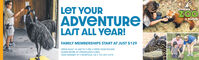LET YOURVIRGINIAZOOin NorfolkADVENTURELAST ALL YEAR!FAMILY MEMBERSHIPS START AT JUST $129OPEN DAILY 10 AM TO 5 PM  OPEN YEAR ROUNDLEARN MORE AT VIRGINIAZOO.ORG3500 GRANBY ST  NORFOLK, VA  757.441.2374 LET YOUR VIRGINIA ZOO in Norfolk ADVENTURE LAST ALL YEAR! FAMILY MEMBERSHIPS START AT JUST $129 OPEN DAILY 10 AM TO 5 PM  OPEN YEAR ROUND LEARN MORE AT VIRGINIAZOO.ORG 3500 GRANBY ST  NORFOLK, VA  757.441.2374