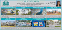 """JUDI CARACAUSA860.912.9903MARKETREALTY, LLCThe Shore & More!COVE ROAD, STONINGTONBroker - Owner Accredited Buyer Representative-Over 30 Years Of Experience Listing & Selling Real Estate-www.marketrealtylle.comLocated at Mystic River Park  28 Cottrell St.  Historic Downtown Mystic, CTBuyMystic@aol.comMYSTICDOWNTOWN MYSTICDEEP RIVERWATERFRONT COMPOUNDIN-TOWN VICTORIANCONDOMINIUMRIVERVIEW ESTATEResort Living at it's Best Direct access to Quiambuug Cove. 381of Waterfront, 57 acres & private dock 3 BRs, 3 ll Bas & IstFloor BR Suite in MAIN HOME. 2 Or Att. Gar. Full basement &Generator. THE OYSTER HOUSE"""" has LR. BR & full RA CoveredPorch with waner views $1450.00Peart Street Victorian! Stroll to unique restaurants and Waerfroet condo & up to 10 of docking in the beart of Historic Lnparalel Craftsmanship throughout. 6,200+ g. ft gated customshops Rare 4,000 square foot, 6 BR. 4.5 BA home with Dountoun Mystic. 3 Rs, 25 BAS. 2 car garage. Hardwood floorsgrcat off street parking. Includes 2nd floor guest suite with buit in bookcases & gas insert fireplace. Double ovens, double fecty situated between Bonston and New York Cay. Ideal for privatebath and separate entrance. Ideal VRBO $574.000Estate. Stunning views of the Connecticut River. 3 car garage. Per-dishwashers, high end appliances & granite counters. $895.000get-aways. Plenty of room for gatherings of all kinds $2.500.000MYSTICIN-TOWN WATERFRONTNOANKNORTH STONINGTONCOMMERCIALMASON'S ISLANDONE LEVEL RANCHFOOD - EXIT 93BONUTSDUNKINASTRAsbarroNathan'sTHE BEST OF ONE LEVEL LINING- Meticulous i , 25 BA CtomRanch home on 92 acres in Crowwinds. Level kot seonded by onewall Living om wth vauted crilings & gas fieeplace. Sunroom leads10 rear deck. New Contral Air. 20k Generor. 3Zone beating sytemBuge loer level can be finihed if needed $69.000Up to 40 of Docking for Your Boutt 3 BRS, 25 BAS. Trilevel Claks Fals Join Dunkin Dons, Sundunt Mosel Jehovahs Winew KingEnd Unit! Waterviews of Mystic River Park, Mlystic River &Boat Traffi"""