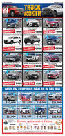 12AI L s-HERALDSNA MARCH ITRUCKMONTHDIANAGARCIA2019 Chevrolet ColoradoCrew Cab LT2019 Chevrolet Blazer LT2020 Chevrolet Trax LSSave $4291 $18499 Save $4496 $26949 Save $5490 $306602020 Chevrolet SilveradoCrew Cab 4x4 Traioss Pkg2020 Chevrolet Siverado Crew Cab LT2020 Chevrolet Traverse LTSave $4886 $33899 Save $9241 $36999 Save $9326 $382992020 Chevrolet Silverado HDCrew Cab LTZ Diesel 4x42020 GMC Sierra Crew Cab SLE d42019 GMC Sierra Crew Cab4x4 Denali PkgSave $9452 $63138 Save $8690 $44395 Save $9296 $534992020 Bulck Encore Preferred Pkg2019 Buick Envision Preferred Pkg2020 Buick Enclave Essence PkgSave $5089 $21499 Save $7346 $27349 Save $7791 $37399ONLY GM CERTIFIED DEALER IN DEL RIO2018 GMC ACADIA2011 CHEVROLET COLORADO2017 CADILLAC XISa3 CHEVROLET SUBURBANCERTINED$12,999 n $27,899 ma $38,999 $25,999CERTIEIEDCEREIEDP67A2011 OHEVROLET SAVERADO 201 CHEVROLET TRAVERSE LT2015 BUICK ENCLAVE209 CHEVY MPALAGERMITEDGERMIHTEDCERTIFIEDPs $24,999 ma $26,499 a$19,999P $20,788Brown Automotive CenterBUICKSalactionyaluGMCSALES Mon Fic Ban-om- Saturday: Ramdom SERVICE: MonF Banom2520 Veterans Bivd. - Del Rio. TX- 775-7550- 1-800-725-7550 www.brownautocenter.com 12AI L s-HERALD SNA MARCH I TRUCK MONTH DIANA GARCIA 2019 Chevrolet Colorado Crew Cab LT 2019 Chevrolet Blazer LT 2020 Chevrolet Trax LS Save $4291 $18499 Save $4496 $26949 Save $5490 $30660 2020 Chevrolet Silverado Crew Cab 4x4 Traioss Pkg 2020 Chevrolet Siverado Crew Cab LT 2020 Chevrolet Traverse LT Save $4886 $33899 Save $9241 $36999 Save $9326 $38299 2020 Chevrolet Silverado HD Crew Cab LTZ Diesel 4x4 2020 GMC Sierra Crew Cab SLE d4 2019 GMC Sierra Crew Cab 4x4 Denali Pkg Save $9452 $63138 Save $8690 $44395 Save $9296 $53499 2020 Bulck Encore Preferred Pkg 2019 Buick Envision Preferred Pkg 2020 Buick Enclave Essence Pkg Save $5089 $21499 Save $7346 $27349 Save $7791 $37399 ONLY GM CERTIFIED DEALER IN DEL RIO 2018 GMC ACADIA 2011 CHEVROLET COLORADO 2017 CADILLAC XIS a3 CHEVROLET SUBURBAN CERTINED $12,999 n $27,899 ma $38,999 $25,999 CERTIEIED CEREIED P67A 2011 OHEVROLET SAVERADO 201 CHEVROLET TRAVERSE LT 2015 BUICK ENCLAVE 209 CHEVY MPALA GERMITED GERMIHTED CERTIFIED Ps $24,999 ma $26,499 a $19,999 P $20,788 Brown Automotive Center BUICK Salaction yalu GMC SALES Mon Fic Ban-om- Saturday: Ramdom SERVICE: MonF Banom 2520 Veterans Bivd. - Del Rio. TX- 775-7550- 1-800-725-7550 www.brownautocenter.com