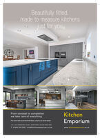 Beautifully fitted,made to measure kitchensjust for you,From concept to completionwe take care of everythingKitchenEmporiumFree home visits across the North West, contact us for all the details.104-106 ORMSKIRK ROAD, NEWTOWN, WIGAN WN5 SEBT. 01942 241220 | info@kitchenemporium.co.ukwww.kitchenemporium.co.uk Beautifully fitted, made to measure kitchens just for you, From concept to completion we take care of everything Kitchen Emporium Free home visits across the North West, contact us for all the details. 104-106 ORMSKIRK ROAD, NEWTOWN, WIGAN WN5 SEB T. 01942 241220 | info@kitchenemporium.co.uk www.kitchenemporium.co.uk