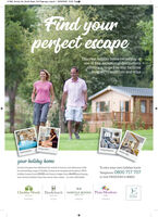 21965 Surrey Life_South Sales_Full Page.qxp_Layout 1 03/03/2020 15:55 PagieFind yourperfect escapeDiscover holiday home ownership atone of four exceptional destinationsoffering a range five-star facilitiesdesigned to entertain and relaxFRMnieityesapetoel petesyour holiday homeDarwin Escapes has redefined the world of luxury and adventure withits outstanding range of holiday homes and exceptional locations. Withholiday homes from £39,995 and luxury lodges from E84,995 purchasingyour dream holiday home has never been easier - or more affordable.To own your own holiday homeTelephone: 0800 717 707or text FREEDOM to 88802Cheddar Woods Hawkchurch NORFOLK WOODS Piran MeadowsDARWINENCAPES-on-SOMERSETDEVONNORPOLKCORNWALL 21965 Surrey Life_South Sales_Full Page.qxp_Layout 1 03/03/2020 15:55 Pagie Find your perfect escape Discover holiday home ownership at one of four exceptional destinations offering a range five-star facilities designed to entertain and relax FRM nieityes apetoel petes your holiday home Darwin Escapes has redefined the world of luxury and adventure with its outstanding range of holiday homes and exceptional locations. With holiday homes from £39,995 and luxury lodges from E84,995 purchasing your dream holiday home has never been easier - or more affordable. To own your own holiday home Telephone: 0800 717 707 or text FREEDOM to 88802 Cheddar Woods Hawkchurch NORFOLK WOODS Piran Meadows DARWIN ENCAPES -on- SOMERSET DEVON NORPOLK CORNWALL