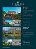 SPENCERSNEW FORESTLymington,HampshireThis luxurious and high specification five bedroomdetached house was built in 2015 in a prime positionwithin walking distance of the marinas, yacht cluband the High Street.Beautifully present and offering generousaccommodation over three floors, ample parking.landscaped gardens and a double garage.Internal viewing is highly recommended.Energy Performance Rating: BPlease contact the Lymington office to arrange aviewing£1,799,500 FreeholdMaiden Lane,LymingtonOne of very few properties to occupy such anunrivalled waterside position so close to LymingtonThis charming period house that has been recentlyupdated by the current owners enjoys glorious viewsacross The Solent to the Isle of Wight and is perfectlypositioned for the exceptional local sailing clubs andmarinas.Energy Performance Rating: DPlease contact the Lymington office to arrange aviewing£1,375,000 FreeholdRingwood:Londonwww.spencersnewforest.comLettings1. 01590 624 814t01425 462 600t 0207 839 0888 SPENCERS NEW FOREST Lymington, Hampshire This luxurious and high specification five bedroom detached house was built in 2015 in a prime position within walking distance of the marinas, yacht club and the High Street. Beautifully present and offering generous accommodation over three floors, ample parking. landscaped gardens and a double garage. Internal viewing is highly recommended. Energy Performance Rating: B Please contact the Lymington office to arrange a viewing £1,799,500 Freehold Maiden Lane, Lymington One of very few properties to occupy such an unrivalled waterside position so close to Lymington This charming period house that has been recently updated by the current owners enjoys glorious views across The Solent to the Isle of Wight and is perfectly positioned for the exceptional local sailing clubs and marinas. Energy Performance Rating: D Please contact the Lymington office to arrange a viewing £1,375,000 Freehold Ringwood: London www.spencersnewforest.com Lettings 1