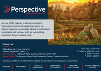 PerspectiveMANAGING WEALTHAs one of the region's leading independentfinancial planners and wealth managers, wedeliver impartial, specialised advice to individuals,corporates and trustees with an outstandingreputation for personal service.Contact us:www.pfgl.co.uk/westE: julian.lowe@pfgl.co.ukT: 01691 671903Julian Lowe DipPFS Certs CII(MP & ER)Director, Perspective (West) LtdOswestry Office: 15 English Walls, Oswestry, Shropshire SY11 2PAChester Office: The Shippon, Church Road, Dodleston, Chester, Cheshire CH4 9NGT: 01244 680314All calls to and from our landlines and mobiles are recorded to meet regulatory requirements.WEALTHINHERITANCELONG TERMHOLISTIC FINANCIALPENSIONSINVESTMENTSMANAGEMENTTAX PLANNINGCARE PLANNINGPLANNING Perspective MANAGING WEALTH As one of the region's leading independent financial planners and wealth managers, we deliver impartial, specialised advice to individuals, corporates and trustees with an outstanding reputation for personal service. Contact us: www.pfgl.co.uk/west E: julian.lowe@pfgl.co.uk T: 01691 671903 Julian Lowe DipPFS Certs CII(MP & ER) Director, Perspective (West) Ltd Oswestry Office: 15 English Walls, Oswestry, Shropshire SY11 2PA Chester Office: The Shippon, Church Road, Dodleston, Chester, Cheshire CH4 9NG T: 01244 680314 All calls to and from our landlines and mobiles are recorded to meet regulatory requirements. WEALTH INHERITANCE LONG TERM HOLISTIC FINANCIAL PENSIONS INVESTMENTS MANAGEMENT TAX PLANNING CARE PLANNING PLANNING
