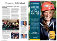 "Withington Girls' SchoolWithingtonGIRLS SCHOOLOeST IB90WHERE )GIRLSSHINEHEAD GIRL KEA IS APPOINTEDDELIGHT AS 2020 UNIVERSITY OFFERS ARRIVETO THE MAYOR'S YOUTH PANELSix set for OxbridgeUpper Siath students at withington Girtswithington's Head Gir, Kea Bell, hasAWithington, all the woport avalable for entry been ppointed anamember of theSchool ane celebrating araft of early university tocempetitive course, including Oxbridge, swch Greater Manchester Youh Combinedoffers as the annual UuCAS adnissions cycle as individual mentoring mock interview, talks Authority SICA)-a panel of youngcontinues te gather pace. Offers from Odand from adnissions tuters and ether professionals prople regresenting the ten boroughsand various cammunities of Greaterantive and six wGS students have now secured tthe hole ef the Sith form.ustecent Manchester who advie GMCA Mayo,conditional or uncondtional places, taking the shen a group of Lower Sath students visited Andy unham, on key hsoes andconcems of young prople, and offerand Cambridge have been amongst the rstte and trips to Ofend er Cambridge, nsolutions te those concet h turned out tegades, Diya Salahudin, essica james, Marialena about their experience of student ifelacovides, Sana Khalil and Aisha Bashie can now Headmistress, Mes Sarah aslam, saidlook forwand ta reading a variety of subjects This yar's Upper Sith ore onMedicine 2, Natural Scences, Pysics andExperimental Pychology whit ta Mven kas enthusiostie and tolented group whean unconditional offer for History and Seanish have toten fvil odvontage of the supportApp te open up paths la employmentand taining for Greater Manchestersschool levers and she in also part of anEnvironment Working troug, who areplanning their oen Cimate Summit to beheld at he Lowry late this year.Kea says that there isa very strongsese ithin the panel that their ideasand advice wi be listened to and wilinfuence the polices and activities ofthe Offce of the Mayor. She said. ""asreally sparked my intervestin politics ands eciting to know thatit can makeareal oference people' vesand bespohe guidance provided by ourdedicated teoching staff throughout theMany Wchington pupils have already receivedfour or more conditional offers which inciadetheir frst choice aniversity. As eve, his year's UCAS process. To our whole Class of 2000cohort has opted te study acress a wide rangesf degree choices including Engineering FineArt, PE, Computer Science, Engish and Musik be on the horlaon end fecus on theirComposition and Technologyfoer Famcohort, well donet They ore now ableto visualise what futures there mayWhile Withington is a top performingschool based on GCSE and A Levelupcoming A Level eneminotions.results, those who know us understandthat what really makes us specialcannot be tested or measured.As a school with no scholarshipsor academic prizes, our pupils arefree to develop and explore theiracademic potential and broaderinterests in a productive, collaborativeand happy environment.OGDEN PRIZE FOR GEOGRAPHYThe Ogden rie for Geography inaprestigious award for the highestmaris in the region in the A LevelGeography examintion papers. Thisyear, the award went te Lauren Cainmaking this the eighth time since200r that this acolade has gone to aWGS student. Lauren is now studyingGeography at the university efKanchester and received her anardata recent Geographical Asseciationlecture, held at ManchesterMetropolitan UniversityLet us show you how our exceptionalschool will offer your daughterFourten ihingion alunna ho arecamenty sadying at Cambridgeook time out ta met with camrent Yar aho vid recedyall the support she needs to fulfilher potential, achieve herNATIONAL SCHOOLS REGIONAL CHAMPIONS& NETBALL FINALISTS!aspirations and shine.0161 249 3371THE SENDAY TIMESwithington's U4 Netbal team have secured aplace atthe National Schools Netball finals atertheir victory in the Nerth est Regional Roundarlier this bermWGS PE teacher, Mes Sephie Hetherington said""The beam played some ouestandingNetboll throughout the court ond wereundefected oll doy. We look foneard tothe National Finols, the thind year in orow that we've hed a teom qualify for theAnals, which is eNcellent, porticularly inSuch a strong netbol regionSCHOOLSGUIDE2020admissions@wgs.orgMeans-tested bursaries availableat key entry points from Year SNORTHWESTINDEPENDENTSECONDARYSCHOOLOF THE YEARwgs.org Withington Girls' School Withington GIRLS SCHOOLOeST IB90 WHERE ) GIRLS SHINE HEAD GIRL KEA IS APPOINTED DELIGHT AS 2020 UNIVERSITY OFFERS ARRIVE TO THE MAYOR'S YOUTH PANEL Six set for Oxbridge Upper Siath students at withington Girts withington's Head Gir, Kea Bell, has AWithington, all the woport avalable for entry been ppointed anamember of the School ane celebrating araft of early university tocempetitive course, including Oxbridge, swch Greater Manchester Youh Combined offers as the annual UuCAS adnissions cycle as individual mentoring mock interview, talks Authority SICA)-a panel of young continues te gather pace. Offers from Odand from adnissions tuters and ether professionals prople regresenting the ten boroughs and various cammunities of Greater antive and six wGS students have now secured tthe hole ef the Sith form.ustecent Manchester who advie GMCA Mayo, conditional or uncondtional places, taking the shen a group of Lower Sath students visited Andy unham, on key hsoes and concems of young prople, and offer and Cambridge have been amongst the rstte and trips to Ofend er Cambridge, n solutions te those conce t h turned out te gades, Diya Salahudin, essica james, Marialena about their experience of student ife lacovides, Sana Khalil and Aisha Bashie can now Headmistress, Mes Sarah aslam, said look forwand ta reading a variety of subjects This yar's Upper Sith ore on Medicine 2, Natural Scences, Pysics and Experimental Pychology whit ta Mven kas enthusiostie and tolented group whe an unconditional offer for History and Seanish have toten fvil odvontage of the support App te open up paths la employment and taining for Greater Manchesters school levers and she in also part of an Environment Working troug, who are planning their oen Cimate Summit to be held at he Lowry late this year. Kea says that there isa very strong sese ithin the panel that their ideas and advice wi be listened to and wil infuence the polices and activities of the Offce of the Mayor. She said. ""as really sparked my intervestin politics and s eciting to know thatit can makea real oference people' ves and bespohe guidance provided by our dedicated teoching staff throughout the Many Wchington pupils have already received four or more conditional offers which inciade their frst choice aniversity. As eve, his year's UCAS process. To our whole Class of 2000 cohort has opted te study acress a wide range sf degree choices including Engineering Fine Art, PE, Computer Science, Engish and Musik be on the horlaon end fecus on their Composition and Technologyfoer Fam cohort, well donet They ore now able to visualise what futures there may While Withington is a top performing school based on GCSE and A Level upcoming A Level eneminotions. results, those who know us understand that what really makes us special cannot be tested or measured. As a school with no scholarships or academic prizes, our pupils are free to develop and explore their academic potential and broader interests in a productive, collaborative and happy environment. OGDEN PRIZE FOR GEOGRAPHY The Ogden rie for Geography ina prestigious award for the highest maris in the region in the A Level Geography examintion papers. This year, the award went te Lauren Cain making this the eighth time since 200r that this acolade has gone to a WGS student. Lauren is now studying Geography at the university ef Kanchester and received her anard ata recent Geographical Asseciation lecture, held at Manchester Metropolitan University Let us show you how our exceptional school will offer your daughter Fourten ihingion alunna ho arecamenty sadying at Cambridge ook time out ta met with camrent Yar aho vid recedy all the support she needs to fulfil her potential, achieve her NATIONAL SCHOOLS REGIONAL CHAMPIONS & NETBALL FINALISTS! aspirations and shine. 0161 249 3371 THE SENDAY TIMES withington's U4 Netbal team have secured a place atthe National Schools Netball finals ater their victory in the Nerth est Regional Round arlier this berm WGS PE teacher, Mes Sephie Hetherington said ""The beam played some ouestanding Netboll throughout the court ond were undefected oll doy. We look foneard to the National Finols, the thind year in o row that we've hed a teom qualify for the Anals, which is eNcellent, porticularly in Such a strong netbol region SCHOOLS GUIDE 2020 admissions@wgs.org Means-tested bursaries available at key entry points from Year S NORTHWEST INDEPENDENT SECONDARY SCHOOL OF THE YEAR wgs.org"