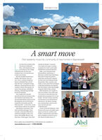 "PROMOTIONA smart moveFirst residents move into community of new homes in Bawdeswelless than four months afterthe launch of Bluebelland Kirstie Barber, CustomerCare Supervisor, gave a similarreception for newly-wed coupleRise, a development of 40new homes in the villageof Bawdeswell, the first newresidents have received the keysWill Belston and Emily Bristow,Mike, a tyre salesman fromWymondham, and Emma, apharmacy worker from Fakenham,have been living with parentswhile they saved up for a depositto their new homes.Built by Norfolk-based housebuilder Abel Homes, the newtwo- three- and four-bedroomon their new two-bedroom home.Meamwhile, Will, a teacher, andEmily, a nurse, have been renting inin Bawdeswell before moving intotheir first home, which they boughtusing the Help To Buy scheme.Welcoming the two couples totheir new homes, Tony Abel said,""It's lovely to come and meet thepeople who are going to live in ourhomes. We have always said thatour business in not about brickshomes at Bluebell Rise will allhave the top 'N' rating for energyefficiency, boasting features suchas photo voltaic solar panels, airsource heat pumps, underfloorheating, triple glazing and highlevels of insulation.Two couples have alreadymoved into their new homes at thesite, both first-time buyers whosecured their homes early on at thedevelopment; one on the launchand mortar, but about creatingweekend in November and thenew communities, and we haveother just after - awise move, as theinitial release sold out very quickly.Abel Homes Chairman, TonyAbel and Sales Manager, ClareCornish, welcomed Mike Bunnnow started to do thatin Bawdeswell.""As part of the devellopment, AbelHomes will create two public openspaces on the site, and has alsomade a commitment to provide apiece of public artwork on everysite where it builds homes.and Emma Wright to their newhome with bubbly, flowers andtheir keys, whilst again Tony AbelAbelMore details about Bluebell Rise at Bawdeswell are avalable at:www.abelhomes.co.uk  01953 884486Homes PROMOTION A smart move First residents move into community of new homes in Bawdeswell ess than four months after the launch of Bluebell and Kirstie Barber, Customer Care Supervisor, gave a similar reception for newly-wed couple Rise, a development of 40 new homes in the village of Bawdeswell, the first new residents have received the keys Will Belston and Emily Bristow, Mike, a tyre salesman from Wymondham, and Emma, a pharmacy worker from Fakenham, have been living with parents while they saved up for a deposit to their new homes. Built by Norfolk-based house builder Abel Homes, the new two- three- and four-bedroom on their new two-bedroom home. Meamwhile, Will, a teacher, and Emily, a nurse, have been renting in in Bawdeswell before moving into their first home, which they bought using the Help To Buy scheme. Welcoming the two couples to their new homes, Tony Abel said, ""It's lovely to come and meet the people who are going to live in our homes. We have always said that our business in not about bricks homes at Bluebell Rise will all have the top 'N' rating for energy efficiency, boasting features such as photo voltaic solar panels, air source heat pumps, underfloor heating, triple glazing and high levels of insulation. Two couples have already moved into their new homes at the site, both first-time buyers who secured their homes early on at the development; one on the launch and mortar, but about creating weekend in November and the new communities, and we have other just after - awise move, as the initial release sold out very quickly. Abel Homes Chairman, Tony Abel and Sales Manager, Clare Cornish, welcomed Mike Bunn now started to do that in Bawdeswell."" As part of the devellopment, Abel Homes will create two public open spaces on the site, and has also made a commitment to provide a piece of public artwork on every site where it builds homes. and Emma Wright to their new home with bubbly, flowers and their keys, whilst again Tony Abel Abel More details about Bluebell Rise at Bawdeswell are avalable at: www.abelhomes.co.uk  01953 884486 Homes"