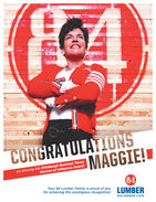 BERCONGRATULATIONSMAGGIE!on winning the Pittsburgh Business TimesWomen of Influence Award!64Your 84 Lumber Family is proud of youfor achieving this prestigious recognition!LUMBER84LUMBER.COM BER CONGRATULATIONS MAGGIE! on winning the Pittsburgh Business Times Women of Influence Award! 64 Your 84 Lumber Family is proud of you for achieving this prestigious recognition! LUMBER 84LUMBER.COM