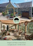 iglooDesigners and Makers of Glass Roomswww.igloo.uk.com  01766 512 652 igloo Designers and Makers of Glass Rooms www.igloo.uk.com  01766 512 652