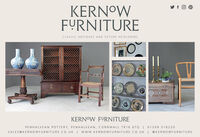 KERNOWFYRNITURECLASSIC ANTIQUES AND FUTURE HEIRLOOMSKERNOW FYRNITUREPENHALVEAN POTTERY, PENHALVEAN, CORNWALL TR16 6TQ | 01209 316220SALES@KERNOWFURNITURE.CO.UK I wW.KERNOWFURNITURE.CO.UK|@ KERNOWFURNITURE KERNOW FYRNITURE CLASSIC ANTIQUES AND FUTURE HEIRLOOMS KERNOW FYRNITURE PENHALVEAN POTTERY, PENHALVEAN, CORNWALL TR16 6TQ | 01209 316220 SALES@KERNOWFURNITURE.CO.UK I wW.KERNOWFURNITURE.CO.UK| @ KERNOWFURNITURE
