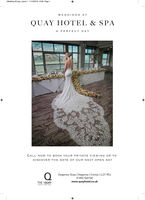 Wedding AD.gxp_Layout 1 11/12/2019 16:38 Page 1WEDDINGS ATQUAY HOTEL & SPAA PERFECT DAYCALL NO W TO BOOK YOUR PRIVATE VIEWING OR TODISCOVER THE DATE OF OUR NEXT OPEN DAYDeganwy Quay | Deganwy | Conwy | LL31 9DJ01492 564100THE I QUAYwww.quayhotel.co.ukHOTEL AND SPA Wedding AD.gxp_Layout 1 11/12/2019 16:38 Page 1 WEDDINGS AT QUAY HOTEL & SPA A PERFECT DAY CALL NO W TO BOOK YOUR PRIVATE VIEWING OR TO DISCOVER THE DATE OF OUR NEXT OPEN DAY Deganwy Quay | Deganwy | Conwy | LL31 9DJ 01492 564100 THE I QUAY www.quayhotel.co.uk HOTEL AND SPA