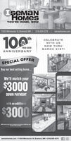IeManHOMESYOU'RE HOME, NOW.11633 Minnesota 18, Brainerd, MN | (218) 829-3278 | isemanhomes.com10thCELEBRATEWITH USNOW THRU1920-2020MARCH 31ST!ANNIVERSARYSPECIAL OFFERBuy our best selling home..We'll match your$3000DOWN PAYMENTwith an additional$3000$3000 match in in the form afadisseut la r best price. 13000 dewn mustbe made at iet perhas.isemanhomes.com  11633 Minnesota 18, Brainerd, MN  (218) 829-3278 IeMan HOMES YOU'RE HOME, NOW. 11633 Minnesota 18, Brainerd, MN | (218) 829-3278 | isemanhomes.com 10 th CELEBRATE WITH US NOW THRU 1920-2020 MARCH 31ST! ANNIVERSARY SPECIAL OFFER Buy our best selling home.. We'll match your $3000 DOWN PAYMENT with an additional $3000 $3000 match in in the form afadisseut la r best price. 13000 dewn must be made at iet perhas. isemanhomes.com  11633 Minnesota 18, Brainerd, MN  (218) 829-3278