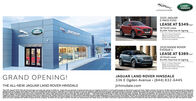 """LAND-ROVERJAGUAR2020 JAGUARE-PACE P250LEASE AT $349/mo36 Month LeaseLANDROVER$3,995 Total Due At Signing$2.751 Down PaymentAcquisition Fee$349 First Months Payment0 security DepositJAGUAT2020 RANGE ROVEREVOQUE SLEASE AT $389/me36 Month Lease$3,495 Total Due At Signing$2.211 Down Payment$895 Acquisition Fee$389 First Month's Payment$0 Security DepositGRAND OPENING!JAGUAR LAND ROVER HINSDALE336 E Ogden Avenue · (844) 832-6445THE ALL-NEW JAGUAR LAND ROVER HINSDALEjlrhinsdale.com""""New 2020 Jaquar E-PACE P250 with 36-roonth legse.plus laxes, e. içerge and $00 do N es and paymg or o conti A e Marenance, ENcesshar and expess leage over.000 mileg pme, Baseg osalfed lessees determined by acproved lender. Eligble customers wi receve a $1.00 putomeEodhe leantsR et Nt compatble emer gredit ofers oringentivedestfation nd anding To leas0 pe S254Resdepytong agply Lesseemayhesond gr amerid this ofer wihout noo Mdel pichured my Vary oreceive a $1iler sets actl amounts Lesee responsble for insyrance atenange, excess sr and excess micagengunts shown are estmatestaler etsase, 6 e lcee and 3 M w vehicle delivery from elaler sock byR Cand Rover Spring Sales Evert Not compatble mer cret ers orinoes Aamou oware esRepdengystepions apply Lesseg has option to putae.vhicle atgurghase vehicleadetal6priceRover Evoe Sboorapproved lender at signing. 1emipation!30 JaguarSpies are pemined by approved nder Egbie oaymerswates and paymerts of doed end lease maylepseBased onbe end at price negotated with etale and approved lender at signing Temination fee may apply Custoner must take new vehice deliveryfom retaler stock by 301220 Land Rover or approved lendermay rescind or amend this ofer without notio. Model pictured fay vary trom offer. See dealer lr detalsaystomer LAND- ROVER JAGUAR 2020 JAGUAR E-PACE P250 LEASE AT $349/mo 36 Month Lease LAND ROVER $3,995 Total Due At Signing $2.751 Down Payment Acquisition Fee $349 First Months Payment 0 security Deposit JAGUAT 2020 RANGE ROVER EVOQUE S LEASE AT $389"""