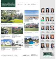 HOWARD HANNAHOMES OF DISTINCTIONTHE ART OF FINE HOMES200LanaSusieDoriCary757-729-5724EdmundsIwanowski757-718- 1970757-439-16352317 EVANGELINES WAY$935,000Virginia BeachSusie Edmunds 757-718-1970DeborahAnnSamLesyshynMalbonMarfin757-573-8311757-647-0044757-667-96552709 SPIGEL DRIVE Virginia BeachMelanie Rice 757-636-8108$975,000ErinenMelanieO'BrienO'BrienRice4245 CHESWICK LANES869,000757-575-8768757-621-2058757-636-8108Virginia BeachSusie Edmunds 757-718-1970142 PINEWOOD ROAD3389 HERONS GATEVirginia BeachJonell Walthall 757-639-3516$740,000Virginia BeachErin O'Brien 757-575-8768$679,900SusanShoughnessyKatieSharonRipbergerSimón757-434-6450757-714-6246757-652-68672541 BROAD BAY ROAD$760,000Virginia BeachSusie Edmunds 757-718-19703240 INDIAN PLANTATION DRIVE 4610 LAUDERDALE AVENUEVirginia BeachSusie Edmunds 757-718-1970Virginia BeachSusie Edmunds 757-718-1970$628,000JonellMelodyWorkmanPatriciaWoltholl757-639-3516Zuraw$679,000757-235-3843757-373-8601owardlannanHOWARDHANNA.COMLeadingREAL ESTATECOMPANIESTHE WOPLOLPLUXURYPORTFOLIOINTERNATIONALReal Estate Services HOWARD HANNA HOMES OF DISTINCTION THE ART OF FINE HOMES 200 Lana Susie Dori Cary 757-729-5724 Edmunds Iwanowski 757-718- 1970 757-439-1635 2317 EVANGELINES WAY $935,000 Virginia Beach Susie Edmunds 757-718-1970 Deborah Ann Sam Lesyshyn Malbon Marfin 757-573-8311 757-647-0044 757-667-9655 2709 SPIGEL DRIVE Virginia Beach Melanie Rice 757-636-8108 $975,000 Erin en Melanie O'Brien O'Brien Rice 4245 CHESWICK LANE S869,000 757-575-8768 757-621-2058 757-636-8108 Virginia Beach Susie Edmunds 757-718-1970 142 PINEWOOD ROAD 3389 HERONS GATE Virginia Beach Jonell Walthall 757-639-3516 $740,000 Virginia Beach Erin O'Brien 757-575-8768 $679,900 Susan Shoughnessy Katie Sharon Ripberger Simón 757-434-6450 757-714-6246 757-652-6867 2541 BROAD BAY ROAD $760,000 Virginia Beach Susie Edmunds 757-718-1970 3240 INDIAN PLANTATION DRIVE 4610 LAUDERDALE AVENUE Virginia Beach Susie Edmunds 757-718-1970 Virginia Beach Susie Edmunds 757-718-1970 $628,000 Jonell Melody Workman Patricia Woltholl 757-639-3516 Zuraw $679,000 757-235-3843 757-373-8601 oward lannan HOWARDHANNA.COM Leading REAL ESTATE COMPANIES THE WOPLO LP LUXURY PORTFOLIO INTERNATIONAL Real Estate Services