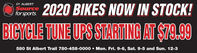 ST. ALBERTource2020 BIKES NOW IN STOCK!for sports.BICYCLE TUNE UPS STARITING AT S79.99580 St Albert Trail 780-458-0000  Mon. Fri. 9-6, Sat. 9-5 and Sun. 12-3 ST. ALBERT ource 2020 BIKES NOW IN STOCK! for sports. BICYCLE TUNE UPS STARITING AT S79.99 580 St Albert Trail 780-458-0000  Mon. Fri. 9-6, Sat. 9-5 and Sun. 12-3
