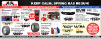 KEEP CALM, SPRING HAS BEGUN!AUTO STORESTour Hemetews Aeta Parts Stere Slace 19saSAVINGS EFFECTIVE NOW Thru April 30, 2020Get Weekly Specials Sent Text AAAUTOSTORES TOo 22828Directly to Your Inbox:WE HAVE GENERATORS!! FRONT BUMPERDVB NEW REARDISPOSABLEPermatexLightly powdered, theGLOVES - 3SIZES!Kimberly-ClarkProfessionalBUMPERMULTI-PURPOoSEOFFROAD Modular 3-piece design* Joining pieces are reinforced andqusseted for added stability Coated with a thick layer of a proprietarygloves are easy to putPart No. 09185, 09186. SHOP TOWELSSeve09184 - 100 CT$2149 e eton and take offSuper strong - Warks roR HOME SHOPOR THEGARAGE!Part No. FBCS104$94999Part No. RBCS101Part No. 7513055 CTea.QTY. VARIESBY STORE$399compound for cormsion resistance V4 Inch and 3/15 inch steel construction$73499fea.ea.MICKEY THOMPSONDRAG TIRE 26X10X15SPEEDFX),5 GALLON FUELJUGS WITHINCOME TAX REFUND SPECIAL!BUY 4LIGHT TRUCKWHEELS ORTIRES -WE'LLPAY THE PASALES TAXPat Me as $20499American ULTRAFILLER HOSERacingWHEEL COMPANYDRAG TIRE 26X10X15PRO BRACKET RADIALPart No. 024498DickMIOKEY THOMPSONPart Na.8830-8831-8832-8833$25954630 Broadway St. Allentown (610) 391-9660  www.aaautostores.com  2301 Union Blvd. Allentown (610) 821-0303Copyright 0220. A rights reerved. Al tot, graphics, pictures, logon, and the selection and arrangement thereof is h exclusive property of h Publisher or content Suppler. No portion of th add, including images, may reproduced in n without prior written consent of h Publisher Valid thru April 30th$20999MANY MORE STYLESAND SIZES AVAILABLE!TIRESWHELSCEPEKea.*IN-STORE ONLYTea. KEEP CALM, SPRING HAS BEGUN! AUTO STORES Tour Hemetews Aeta Parts Stere Slace 19sa SAVINGS EFFECTIVE NOW Thru April 30, 2020 Get Weekly Specials Sent Text AAAUTOSTORES TOo 22828 Directly to Your Inbox: WE HAVE GENERATORS!! FRONT BUMPER DVB NEW REAR DISPOSABLE Permatex Lightly powdered, the GLOVES - 3 SIZES! Kimberly-Clark Professional BUMPER MULTI-PURPOoSE OFFROAD  Modular 3-piece design * Joining pieces are reinf