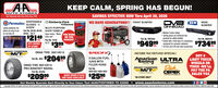 "KEEP CALM, SPRING HAS BEGUN!AUTO STORESSAVINGS EFFECTIVE NOW Thru April 30, 2020Teur Hemetawn Aets Parts Stere Slace 19saDVA NEW REAROFFROADDISPOSABLEPermatexGLOVES - 3Kimberly-ClarkProfessionalWE HAVE GENERATORS!! FRONT BUMPERBUMPERSIZES!MULTI-PURPOSESrttLightly powdered, theploves are easy to puton and take offPart No. 09185, 09186 SHOP TOWELS09184 - 100 CTSHOPlaves $2149 e wet$399Super strong - WorksFOR HOMEOR THEGARAGE! Madular 3-piece Joining pieces are reinforced andqusseted for added stability Coated with a thick layer of a proprietarycomnpound for comsin nastocePart Ne. FBCS104Part No. RBCS101ea.QTY. VARIESBY STOREPart No. 7513055 CT$94999$73499rea.ea. 14 nch and 3/15 inch steel constructionMIOKEV THOMPBONDRAG TIRE 26X10X15SPEEDFX),INCOME TAX REFUND SPECIAL!BUY 4LIGHT TRUCKWHEELS ORTIRES -WE'LLPAY THE PASALES TAXPar Na 3059 $204995 GALLON FUELJUGS WITHFILLER HOSEAmerican ULTRARacingfea.WHEEL COMPANYINCEDRAG TIRE 26X10X15PRO BRACKET RADIALDickCEPEKMICKEY THOMPBONPart No.8830-8831-8832-8833M/TPart No. 024495TEHERW me$20999MANY MORE STYLES $2595AND SIZES AVAILABLEITIRESWHEELSea.""IN-STORE ONLY'ea.Get Weekly Specials Sent Directly to Your Inbox: Text AAAUTOSTORES TO 22828  www.aaautostores.comCopyright o2e0. A rights eserved. Al text, graphics, pictures, logos, and the selection and amangement therof is the exclusive property of the Publisher or its contant Suppler. No portion of this add, including images, may be reproduced in any for without prior writen consent of the Publishec Valid thru Api 30nITRILE KEEP CALM, SPRING HAS BEGUN! AUTO STORES SAVINGS EFFECTIVE NOW Thru April 30, 2020 Teur Hemetawn Aets Parts Stere Slace 19sa DVA NEW REAR OFFROAD DISPOSABLE Permatex GLOVES - 3 Kimberly-Clark Professional WE HAVE GENERATORS!! FRONT BUMPER BUMPER SIZES! MULTI-PURPOSE Srtt Lightly powdered, the ploves are easy to put on and take off Part No. 09185, 09186 SHOP TOWELS 09184 - 100 CT SHOP laves $2149 e wet $399 Super strong - WorksFOR HOME OR THE GARAGE!  Madular 3-piece  Joining pieces are reinforced and qusseted for added stability  Coated with a thick layer of a proprietary comnpound for comsin nastoce Part Ne. FBCS104 Part No. RBCS101 ea. QTY. VARIES BY STORE Part No. 75130 55 CT $94999 $73499 rea. ea.  14 nch and 3/15 inch steel construction MIOKEV THOMPBON DRAG TIRE 26X10X15 SPEEDFX), INCOME TAX REFUND SPECIAL! BUY 4 LIGHT TRUCK WHEELS OR TIRES -WE'LL PAY THE PA SALES TAX Par Na 3059 $20499 5 GALLON FUEL JUGS WITH FILLER HOSE American ULTRA Racing fea. WHEEL COMPANY INCE DRAG TIRE 26X10X15 PRO BRACKET RADIAL Dick CEPEK MICKEY THOMPBON Part No. 8830-8831-8832-8833 M/T Part No. 024495 TEHERW me $20999 MANY MORE STYLES $2595 AND SIZES AVAILABLEI TIRESWHEELS ea. ""IN-STORE ONLY 'ea. Get Weekly Specials Sent Directly to Your Inbox: Text AAAUTOSTORES TO 22828  www.aaautostores.com Copyright o2e0. A rights eserved. Al text, graphics, pictures, logos, and the selection and amangement therof is the exclusive property of the Publisher or its contant Suppler. No portion of this add, including images, may be reproduced in any for without prior writen consent of the Publishec Valid thru Api 30n ITRILE"