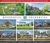 #1 IN RHODE ISLAND HOMES SOLD FOR FIVE CONSECUTIVE YEARS88 Comorant Road INaragansett $3,599,000348 Ocean Road I Narragansett I$2200,000Janet Kermes - 401.527.8159Janet Kermes - 401.527.8159RESIDENTIALPROPERTIES31 Gould Way I North Kingstown I $985,00020 Starr Drive I Narragansett $799,9009 Eagles Nest Terrace I Narragansett $735,000Dana Zangari - 401.935.1200Lynn Leffray - 401.662.9818Lori Eley - 401.741.435529 Hunters Court I Narragansett $668,0001 Lakeworth Avenue I Narragansett $554,90072 Evergreen Road INorth Kingstown IS339,000Garret Roberts - 401.595.7271Janet Kermes - 401.527.8159Garret Roberts - 401-595-7271BARRINGTON   CUMBERLAND EAST GREENWICH   NARRAGANSETTPROVIDENCE WEST SIDE PVDhe etste t pinee- Mlple gteve M pteta mp eh y ydntetal le ivty iet lesettemt Male Ling Sev - lays #1 IN RHODE ISLAND HOMES SOLD FOR FIVE CONSECUTIVE YEARS 88 Comorant Road INaragansett $3,599,000 348 Ocean Road I Narragansett I$2200,000 Janet Kermes - 401.527.8159 Janet Kermes - 401.527.8159 RESIDENTIAL PROPERTIES 31 Gould Way I North Kingstown I $985,000 20 Starr Drive I Narragansett $799,900 9 Eagles Nest Terrace I Narragansett $735,000 Dana Zangari - 401.935.1200 Lynn Leffray - 401.662.9818 Lori Eley - 401.741.4355 29 Hunters Court I Narragansett $668,000 1 Lakeworth Avenue I Narragansett $554,900 72 Evergreen Road INorth Kingstown IS339,000 Garret Roberts - 401.595.7271 Janet Kermes - 401.527.8159 Garret Roberts - 401-595-7271 BARRINGTON   CUMBERLAND EAST GREENWICH   NARRAGANSETT PROVIDENCE WEST SIDE PVD he etste t pinee- Mlple gteve M pteta mp eh y y dntetal le ivty iet lesettemt Male Ling Sev - lays