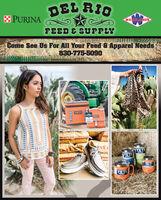 DEL RIOPURINAWENDLAND'SFEED E SUPPLYCome See Us For All Your Feed & Apparel Needs830-775-5090YETIBAYTRIPYETIGSYYETIYETIBAMBLERYETIYETIETI DEL RIO PURINA WENDLAND'S FEED E SUPPLY Come See Us For All Your Feed & Apparel Needs 830-775-5090 YETI BAYTRIP YETI GSY YETI YETI BAMBLER YETI  YETI ETI